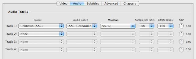 traccia audio italiano