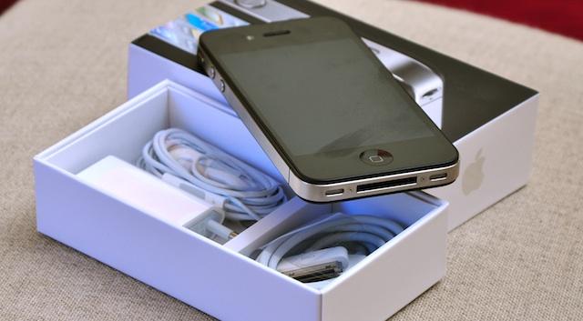 iphone 4 confezione