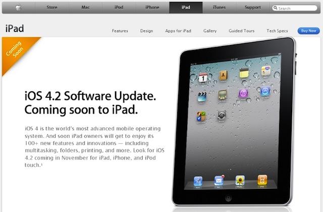 ipad-ios4.2-coming-soon
