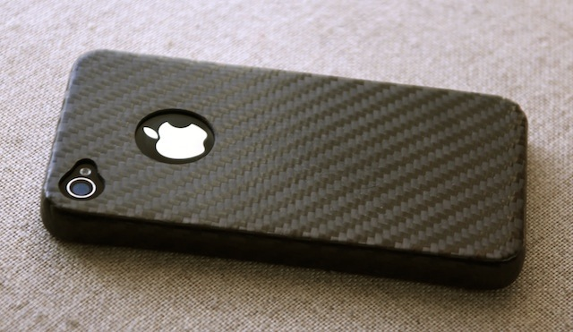 iphone 4 fibre di carbonio