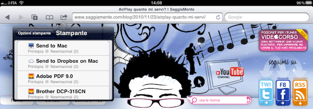 stampa airprint