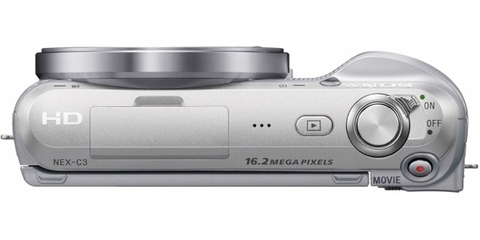 Top View of the Sony NEX-C5