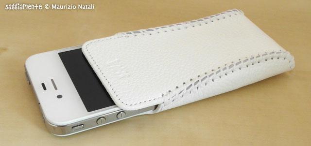 sena sarach ultraslim bianca per iPhone 4