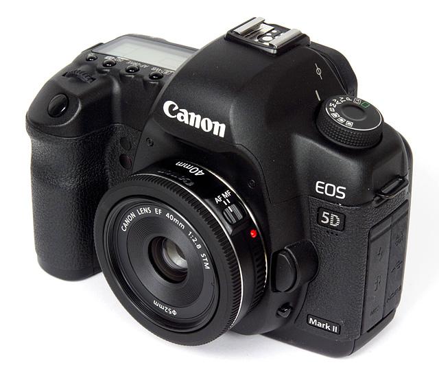 Canon 40 2.8 su Canon 5D