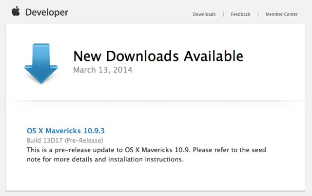 OS X 10-9-3