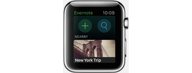 evernoteapplewatch