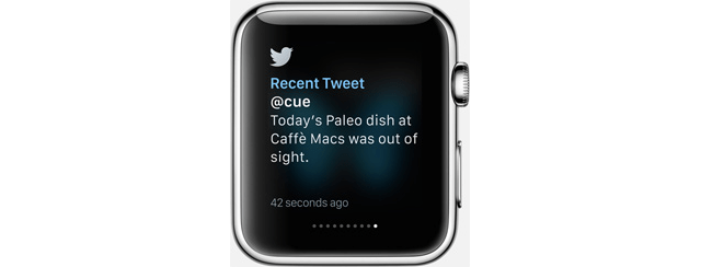 twitterapplewatch