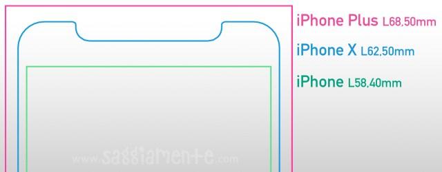 iphone-x-larghezza