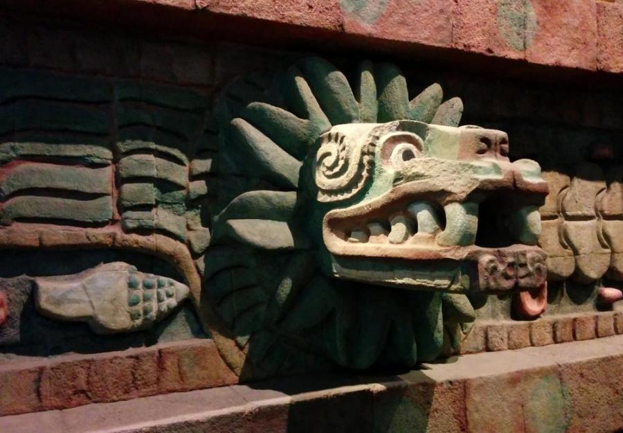 Quetzalcoatl Aztechi