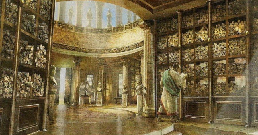 biblioteca Alessandria Piri Reis