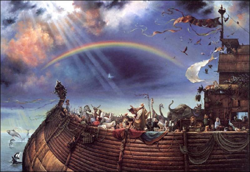 diluvio arca noe