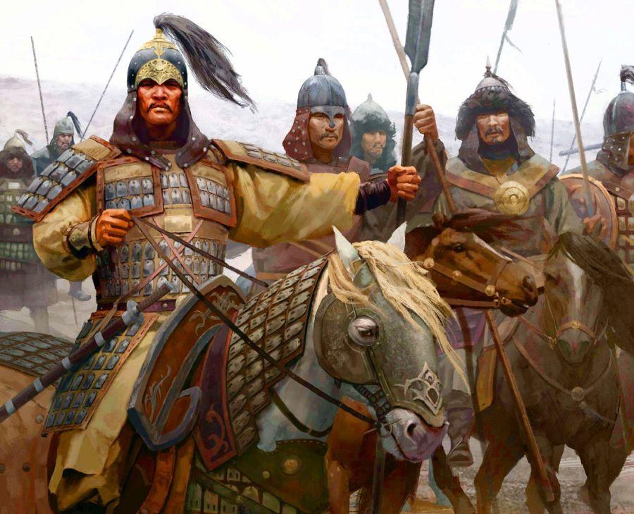 cavalieri persi nel tempo nel burrone Golosov