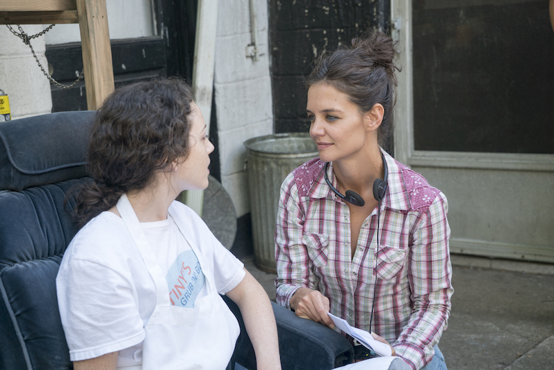 Filmmaker Interview: KATIE HOLMES, director/star of ALL WE HAD