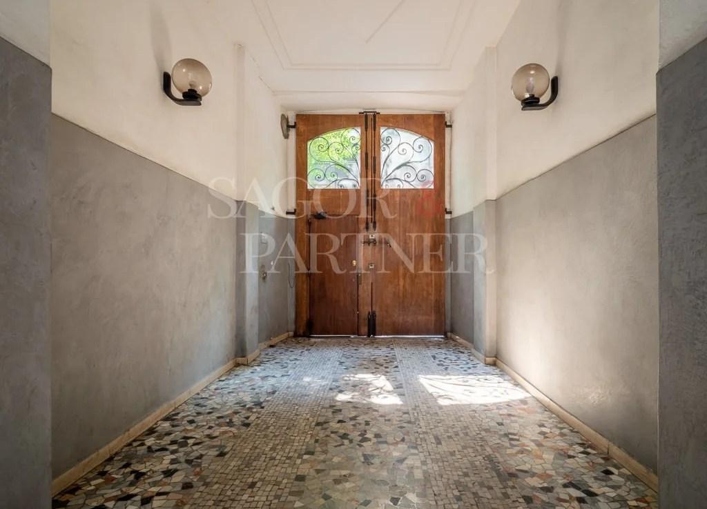 Bilocale mansardato in affitto via Filzi
