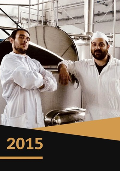 2015 apertura birrificio Sagrin