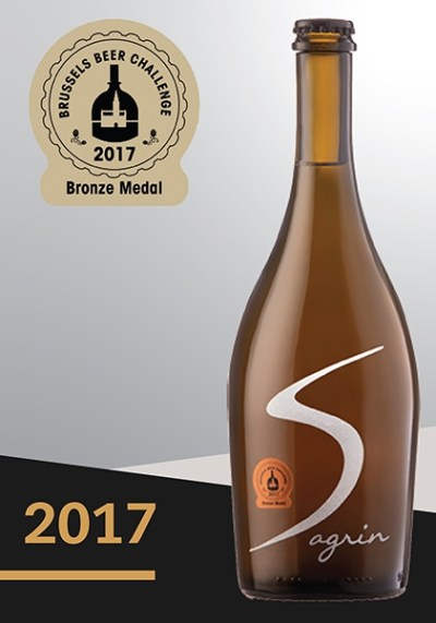 2017 Roè IGA wins the Bronze Medal at the Brussels Beer Challenge 2017