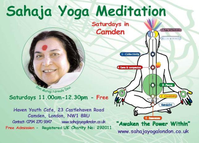 Camden - Free Meditation & Yoga Class