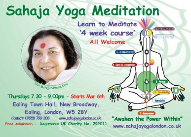 Free Meditation Course - Ealing March 2014