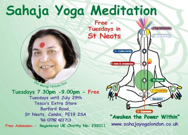 Cambridge Free Meditation & Yoga