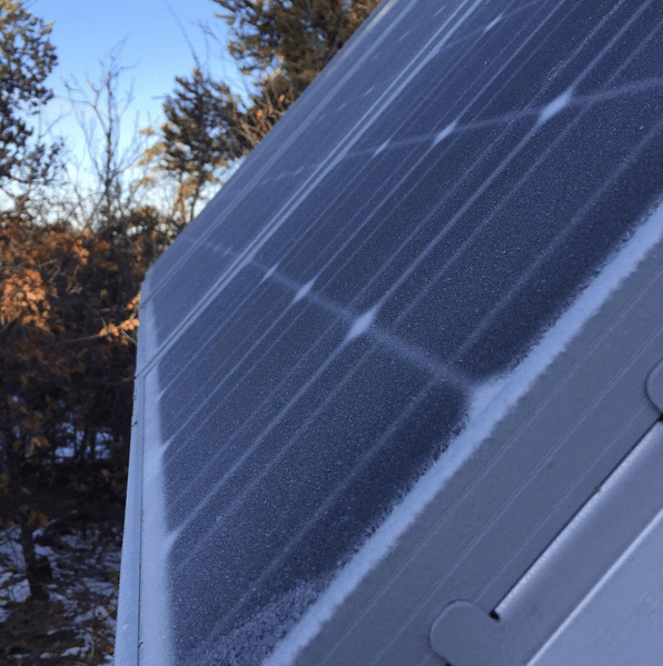 Renogy 100W 12V mono solar panel sahalee off grid