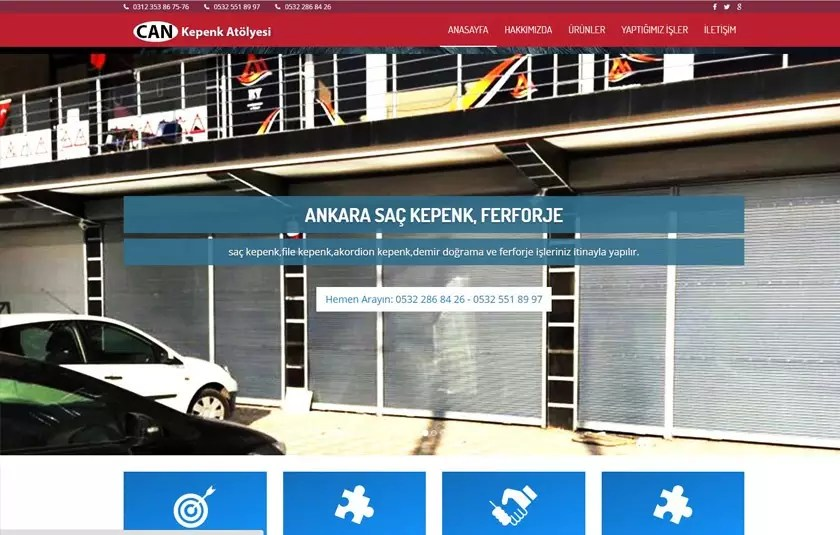 Can Kepenk Ferforje Ankara – ankarakepenkferforje.com