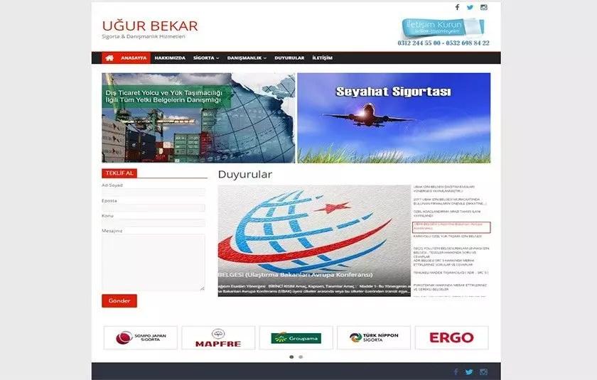 Uğur BEKAR Sigorta & Danışmanlık – ugurbekar.com.tr