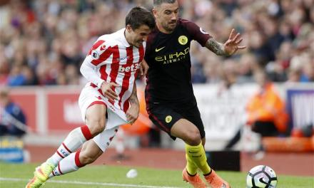 Stoke City's Bojan set to swap Spanish nationality to represent Serbia