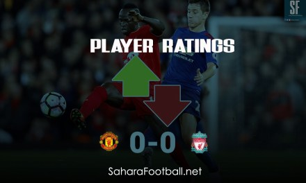 Player Ratings: Liverpool vs Manchester United