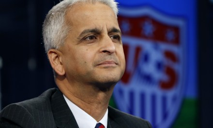 USSF's Sunil Gulati: Donald Trump won't affect 2026 World Cup bid