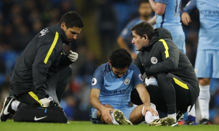 """Guardiola expects Gundogan to be out for """"several months"""" with knee ligament damage"""