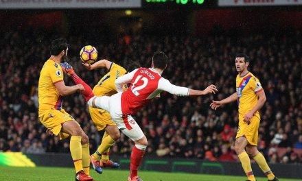 Olivier Giroud: Mkhitaryan scorpion kick goal inspired my effort against Crystal Palace