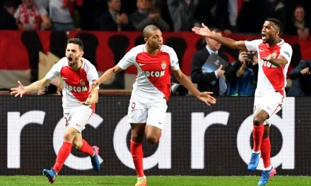 Monaco turn tables on Manchester City, advance to UCL quarterfinals