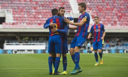 Spanish third-division club Eldense quits season after 12-0 loss to Barca B