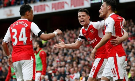 Arsenal fight back twice to claim point against Man City