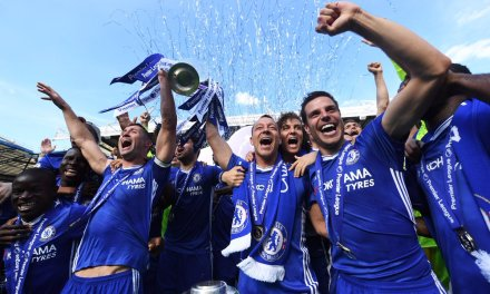 IN PICTURES : CHELSEA CELEBRATE WINNING PREMIER LEAGUE