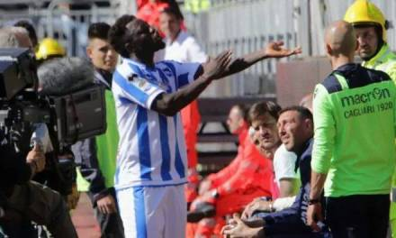 Muntari Walks Of Pitch After Being Racially Abused