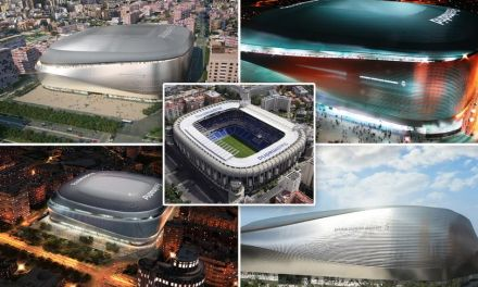 """Madrid Planning Committee Give Real Go Ahead For Bernabeu """"Space Ship"""" Look"""