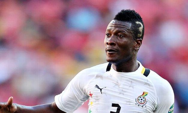 Asamoah Gyan -Ghana's Greatest Striker Of All Time