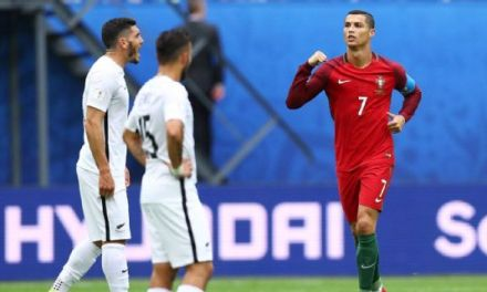 Ronaldo on target as Portugal ease into semifinals