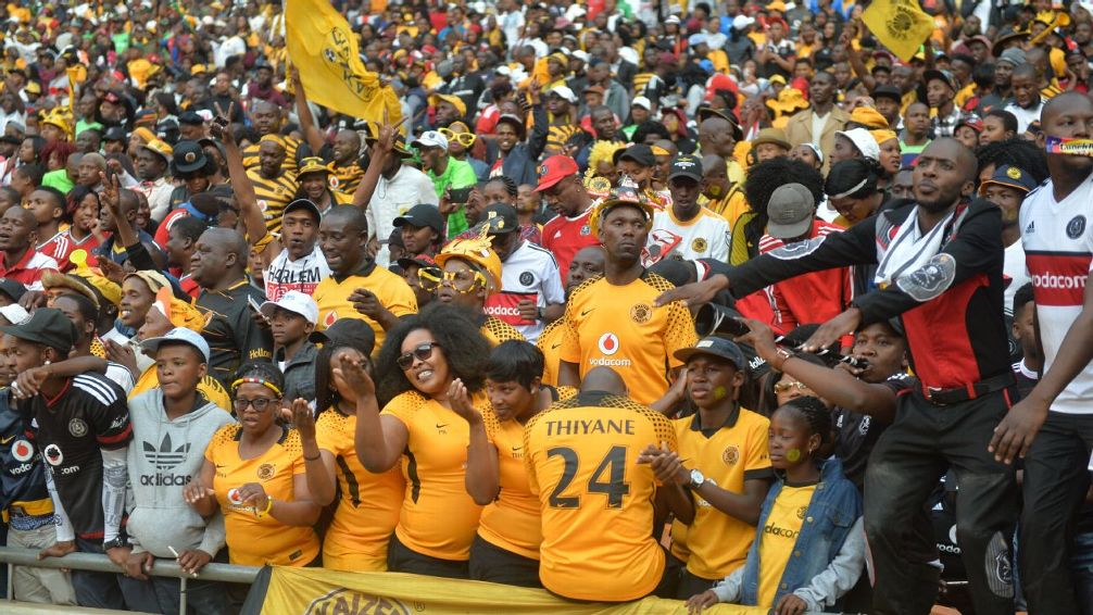 Two fans die in stampede ahead of Soweto derby in South Africa