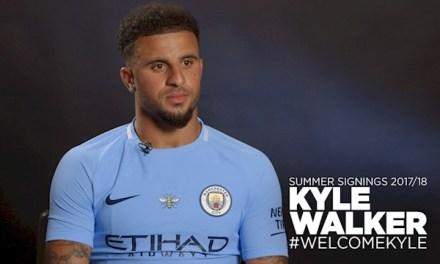 Kyle Walker Joins Manchester City For £45m