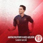 Samir Nasri leaves Manchester City to join Antalyaspor