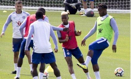 Hazard And Bakayoko Return To Training