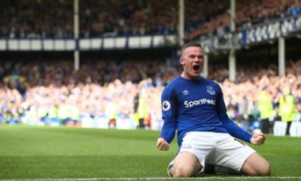 Wayne Rooney goal gives Everton victory over Stoke