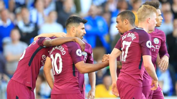 Man City Overcome Brighton Resistance To Win First Game