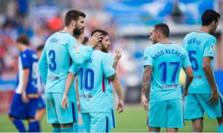 Messi Makes History As Brace Takes Barcelona Past Alaves