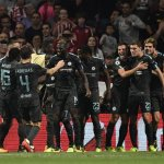 Chelsea hit late winner at Atletico as PSG cruise by Bayern; Man Utd win