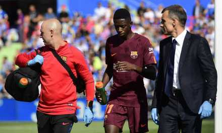 Dembele Suffers Hamstring Injury In Barcelona Win At Getafe