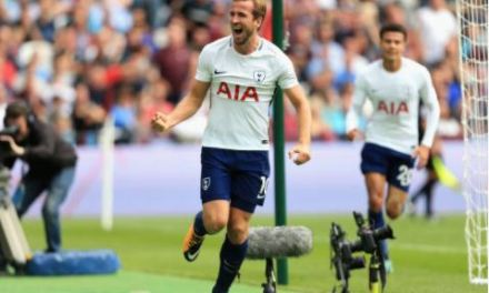 Kane Brace Edges Tottenham Past West Ham