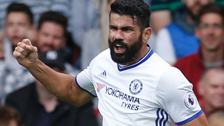 Diego Costa officially completes move to Atletico Madrid from Chelsea